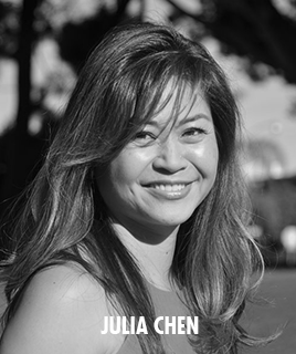 <h1>Julia Chen</h1><p>lorem ipsum dolor sit amet</p>