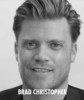 <h1>Brad Christopher</h1><p>lorem ipsum dolor sit amet</p>