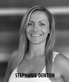 <h1>Stephanie Denton</h1><p>lorem ipsum dolor sit amet</p>