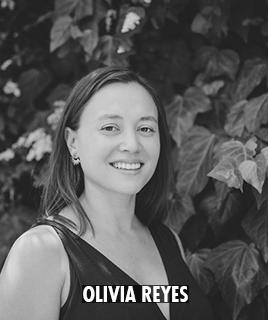 <h1>Olivia Reyes</h1><p>lorem ipsum dolor sit amet</p>