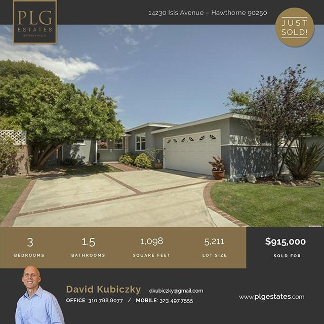Congrats to David Kubiczky on closing this Mid-Century beauty in Hawthorne! @angelenoliving . . . . . .  #PLGEstates #forsale #larealestate #house #houseinspo #houseporn #realestate #realestatela #agents #luxuryrealestate #boutiqueisbetter #decor #beverlyhills #eastside #studiocity #interiordesign #designinspo #housegoals #losangeles #housedreams #laliving #realestatelife #agents #architecture #losangeles