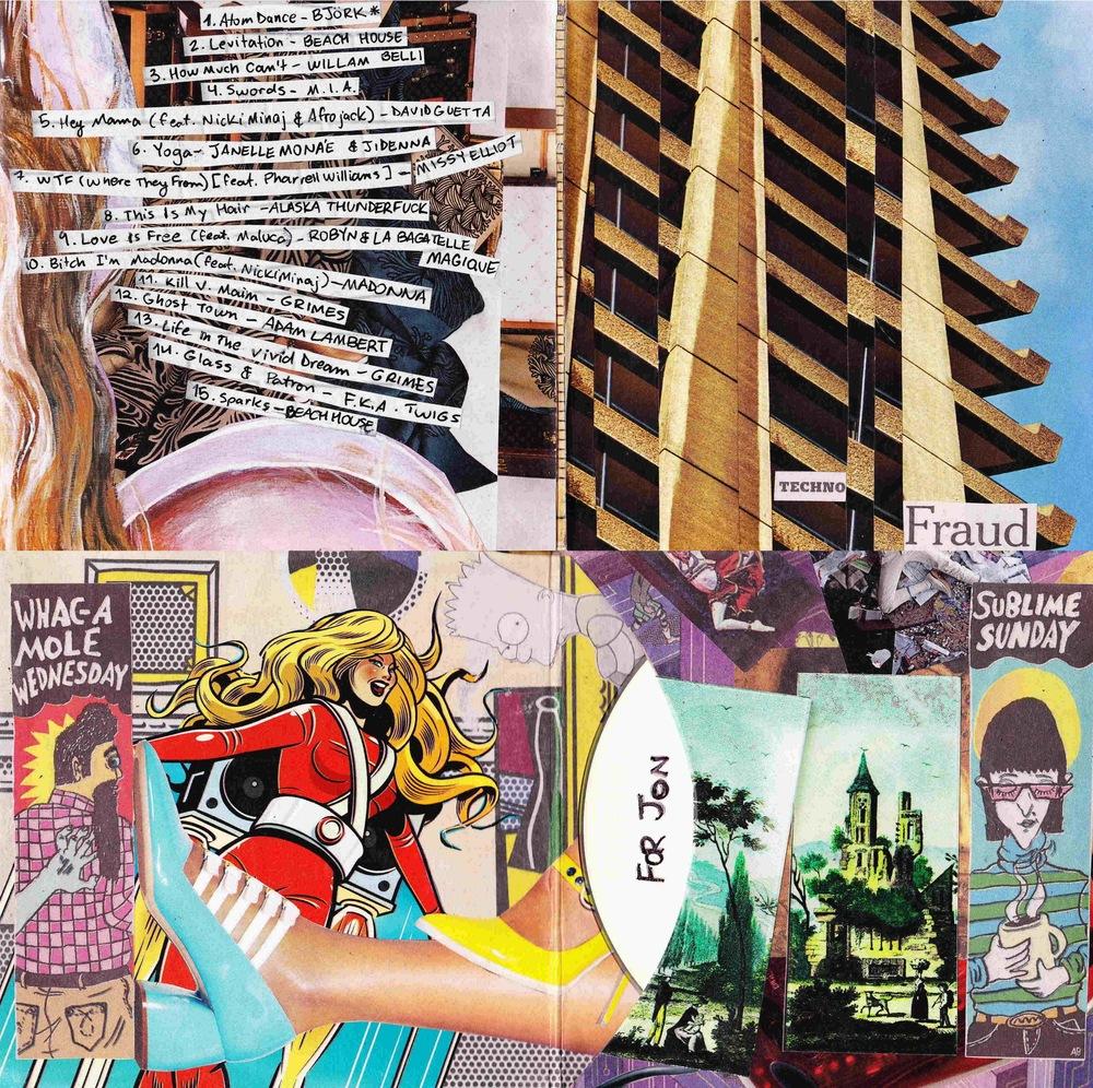 """Techno Fraud"" cover art"