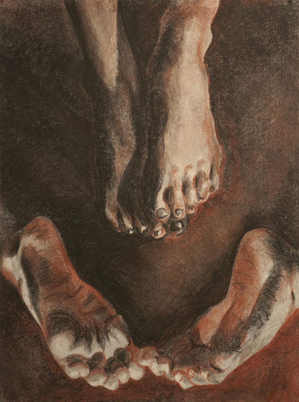 """Untitled (a study on feet)"""