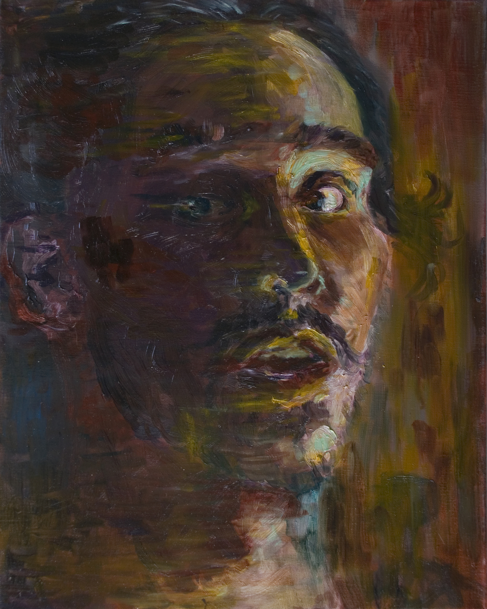 """Self-portrait i"""