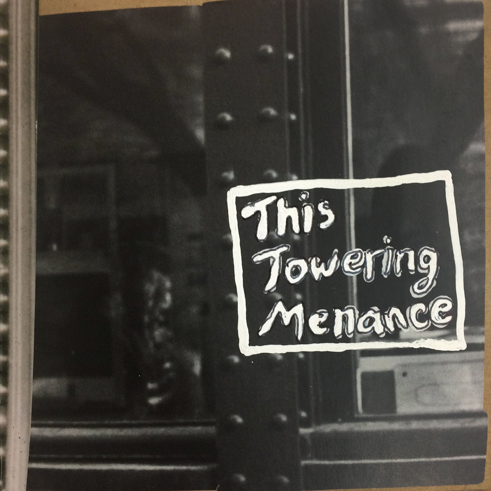 """This Towering Menance"" cover art - jacob version"