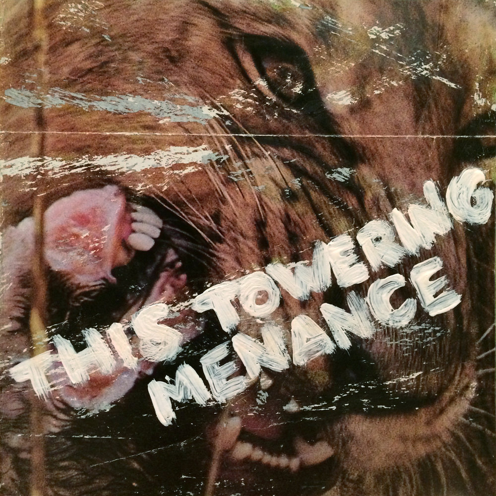 """This Towering Menance"" cover art - hakeem version"