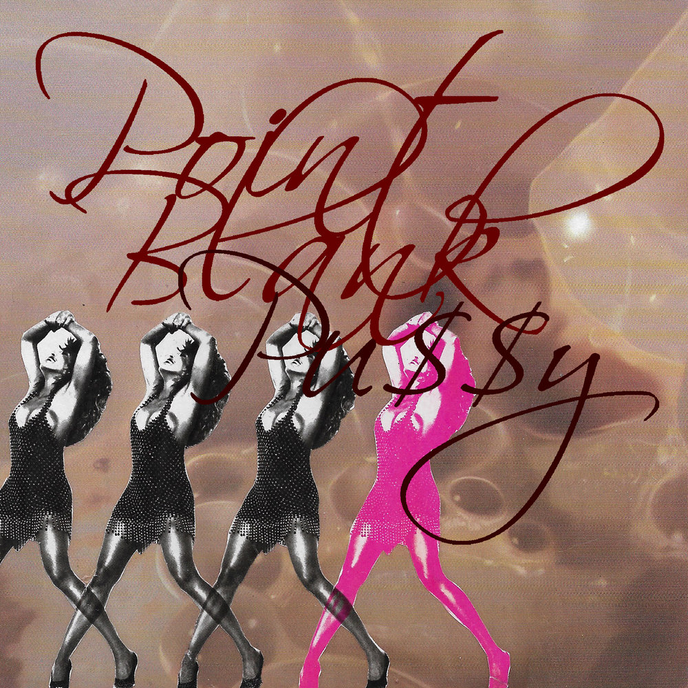 """POINT-BLANK PU$$Y"" cover art"