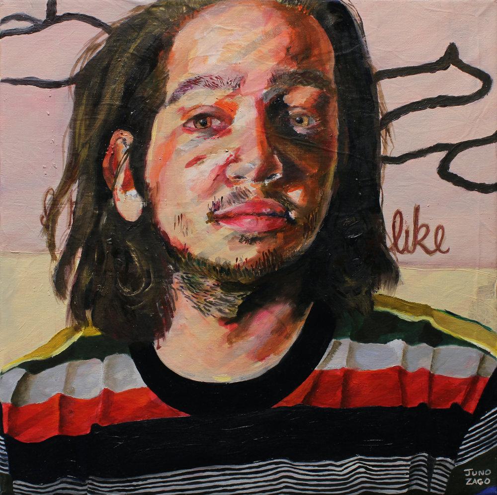 Portrait of Jacob Lawrence Mandel