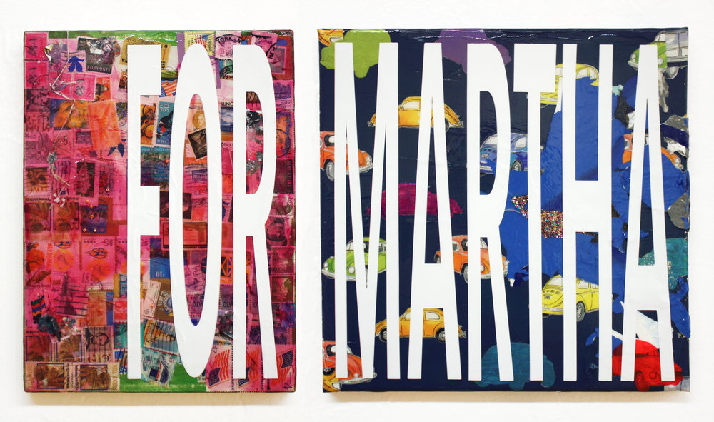 FOR MARTHA (diptych)