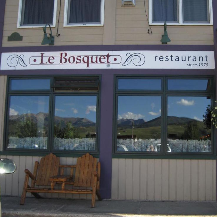 LE BOSQUET  (French)    CRESTED BUTTE