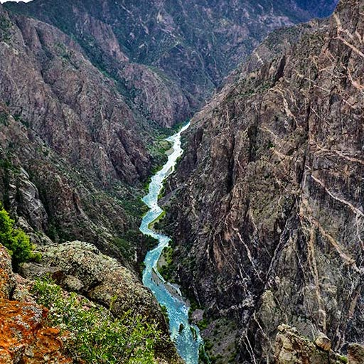 BLACK CANYON OF THE GUNNISON (Hiking, Fishing, Camping)                   Gunnison