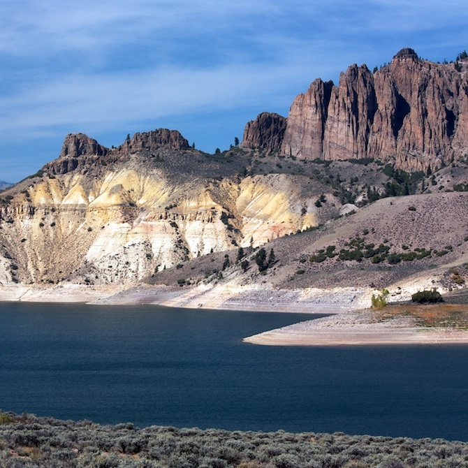 BLUE MESA RESERVOIR (Fishing, Boating, Water Sports, Camping)     Gunnison