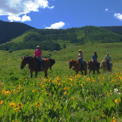 FANTASY RANCH HORSEBACK RIDING         Mt. Crested Butte