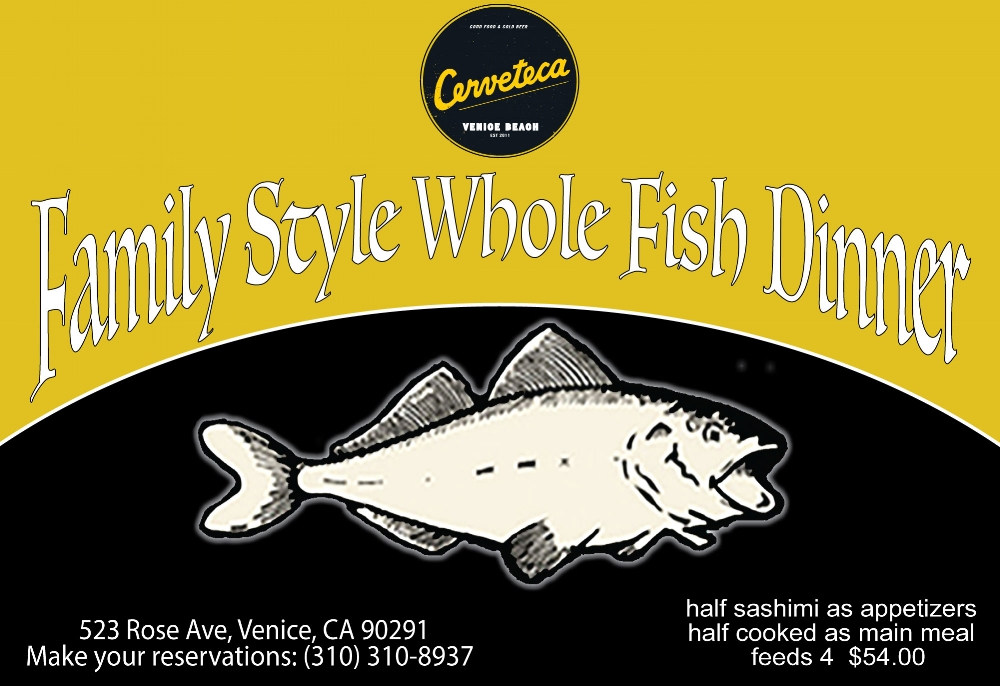 Cerveteca - Flyer Fish