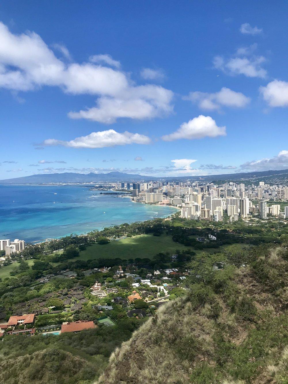 Diamond Head Hike lookout