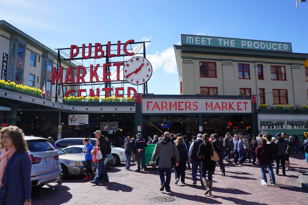 """Pike Place Market""   Photo taken by Calvin Harjono - This place is a MUST. Delicious food all around!"