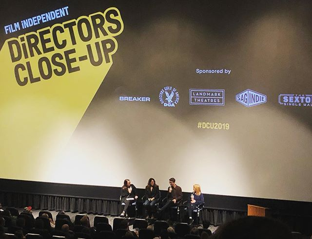 Director's close up night 1 with Karyn Kusama, Nicole Holofcener, Thomas Mann and Jeanne McCarthy 🙌🏽 @filmindependent killing it with the line up!!! #dcu2019