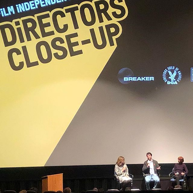 Amazing directors close up panel with Billy Ray, Jane Anderson and Robin Swicord. Killer panel discussions and even better company with @vaddellerie #dcu2019