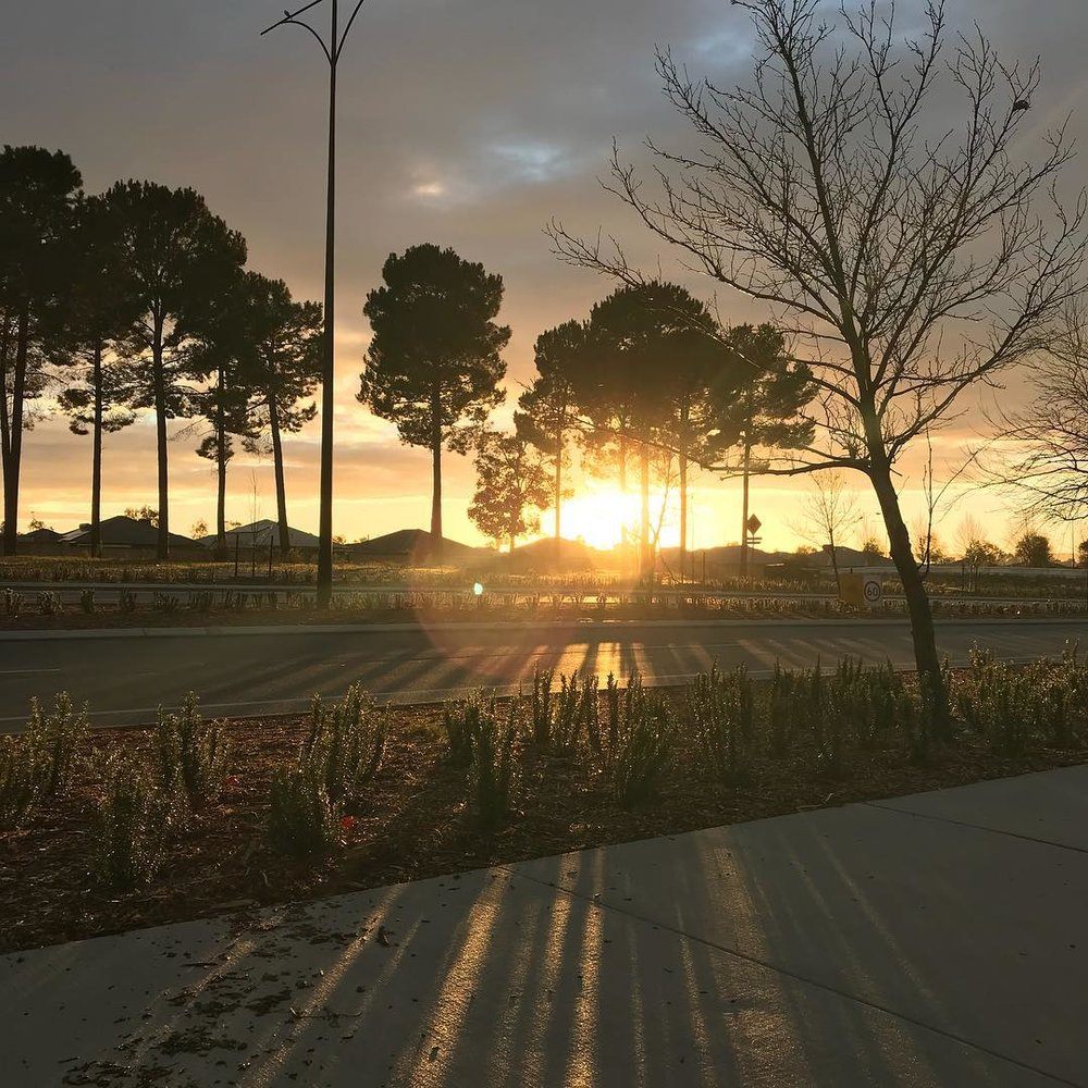 Check out this shot of Ellenbrook at sunrise!