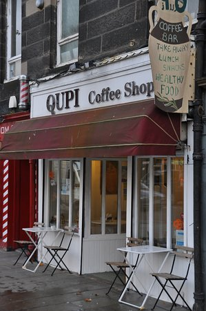 Qupi Coffee Shop   171 Leith Walk, Edinburgh EH6 8NR