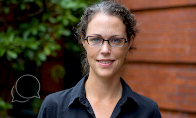"""Madeleine Scammell (SPH'08)Associate Professor of Environmental Health Breakfast: Coffee and a bag of nuts (""""I was thinking this morning about how everyone in this series says oatmeal."""") Hometown: Orleans, Massachusetts Extracurricular: """"What's that?"""""""