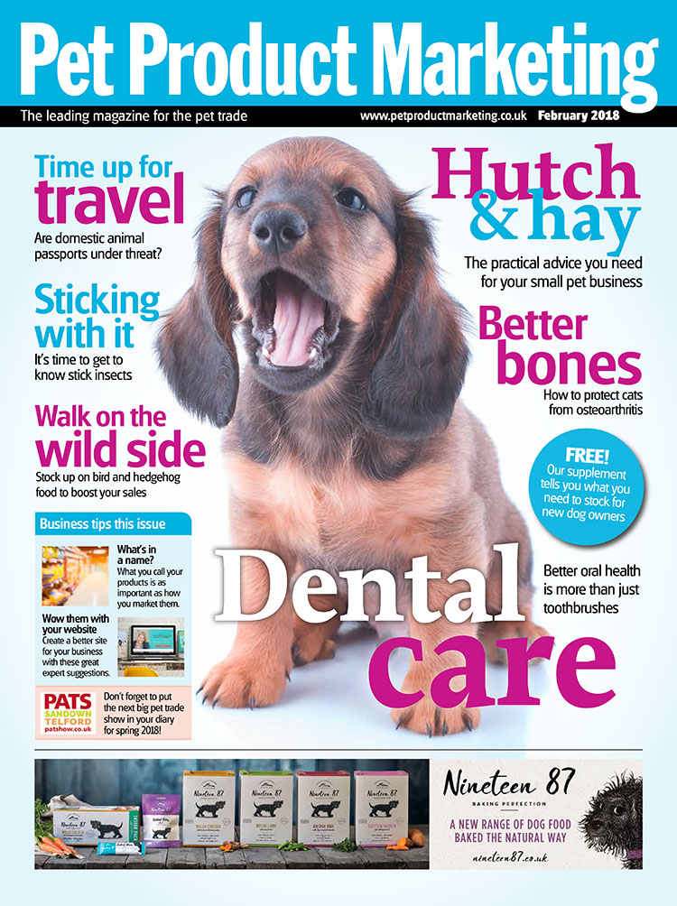 Inside this issue:   We ask:  do stick insects make good pets?  We tell:  you what you need to know about small pets  We hear:  why you should be stocking wild animal feed