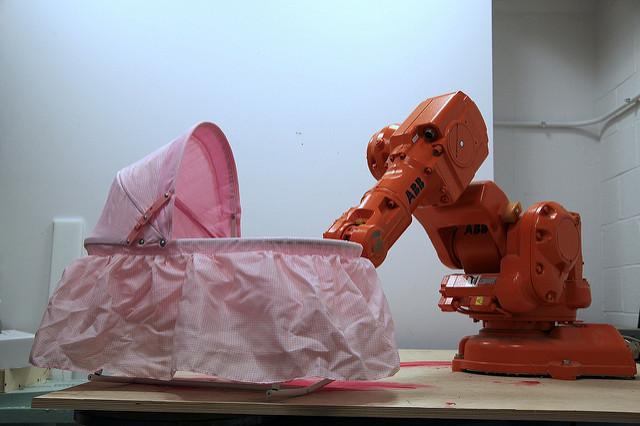 Optimization of Parenting, ABB Robot Arm, Digital Fabrication Laboratory, (dFab), CMU School of Architecture, 2012