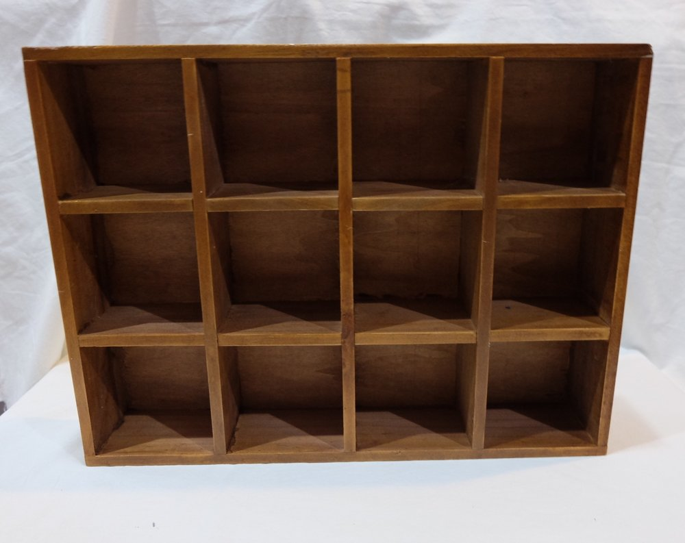 12-HOLED SHELF S$12.00