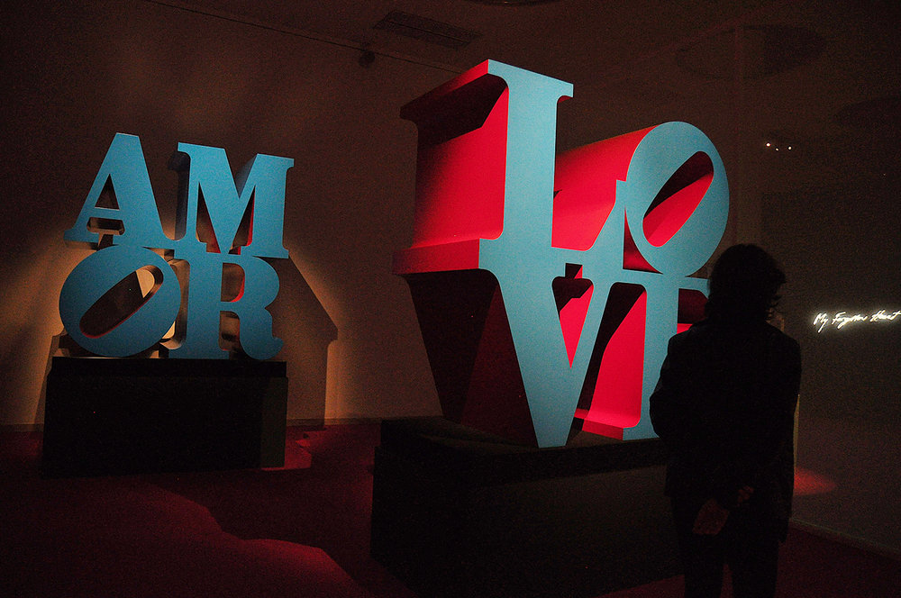 Robert Indiana. LOVE