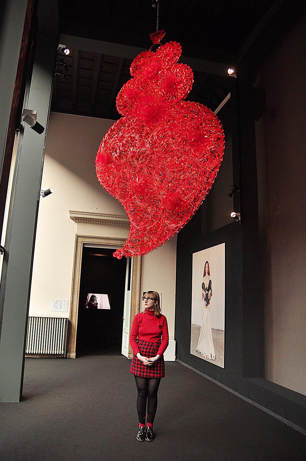 Joana Vasconcelos. Inedependent Heart