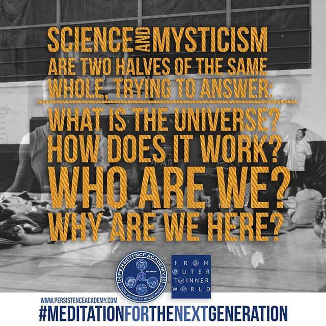 The art of science and the science of art! 🌌💭 #meditationforthenextgeneration