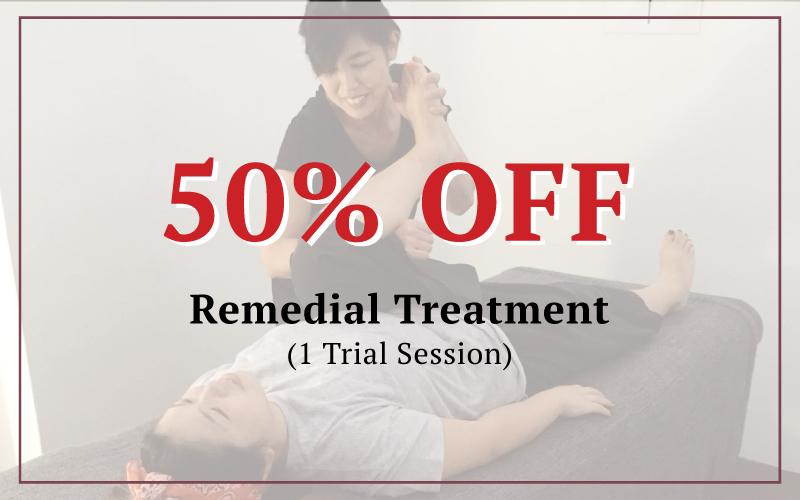 Remedial Body Treatment 50% OFF