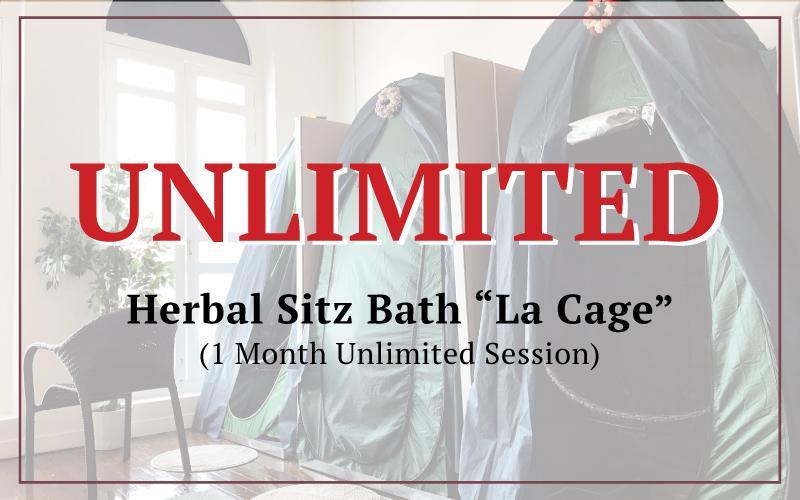 "Herbal Sitz Bath ""La Cage"" 1 Month Unlimited Session"