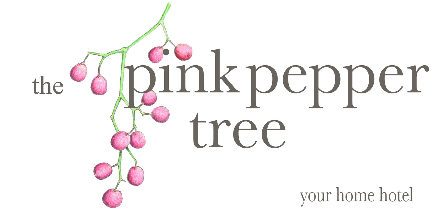 The pink pepper tree