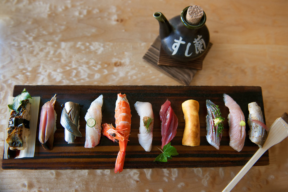 Sushi Ran A 30+ year old Sausalito institution. Consistently remarkable and very busy (book ahead).