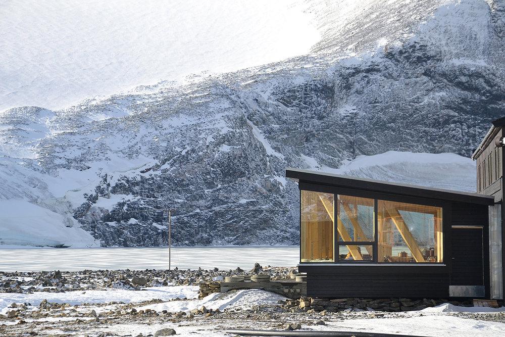 Spisesal Juvasshytta_RAM arkitektur Lillehammer_wood architecture Norway_Jotunheimen 01.JPG