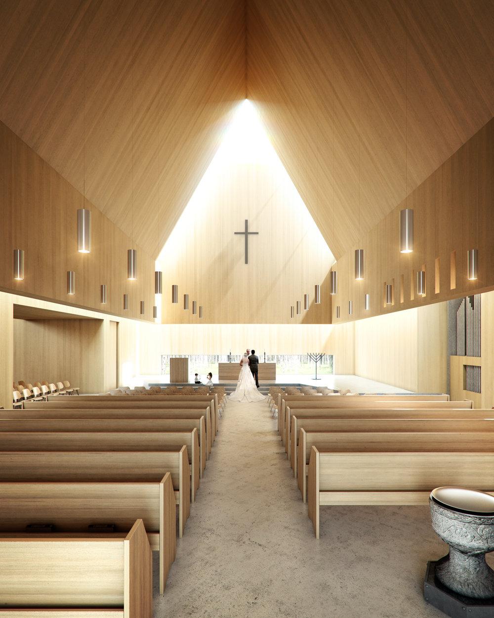 Våler kirke, konkurranse, 2012