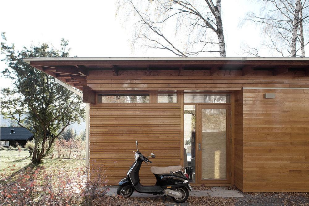 Garasje og lysthus, 2010