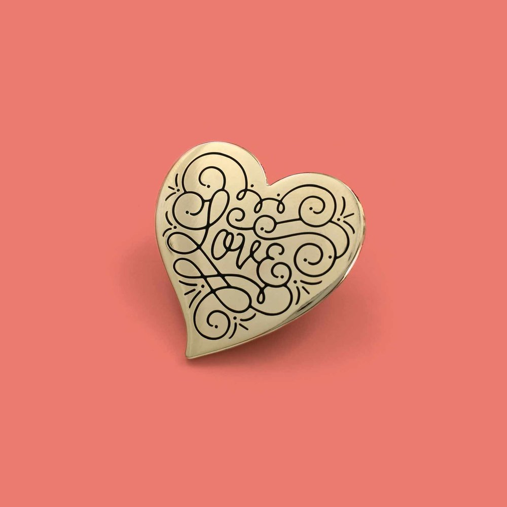 Love Brooch | €12,00