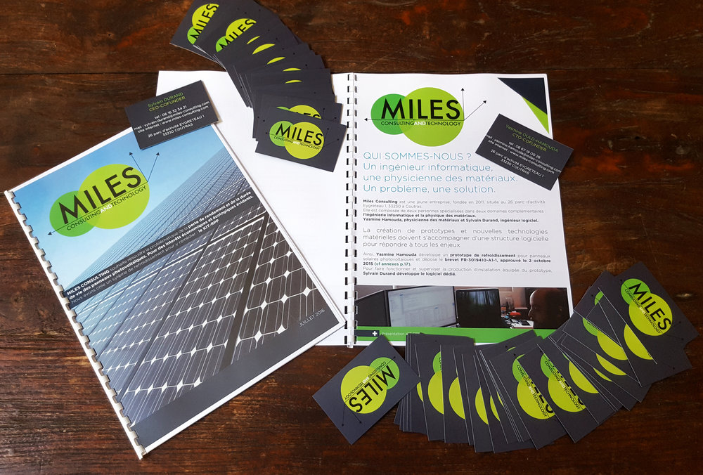 Communication & Print MILES CONSULTING