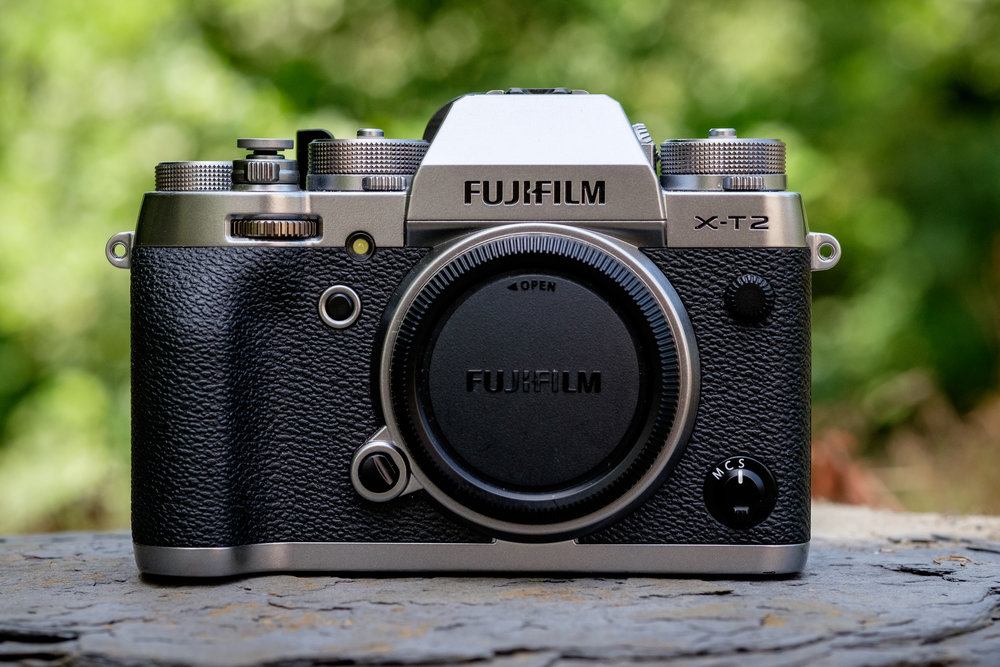 The Fujifilm X-T2. My workhorse and my favorite camera I've ever used.