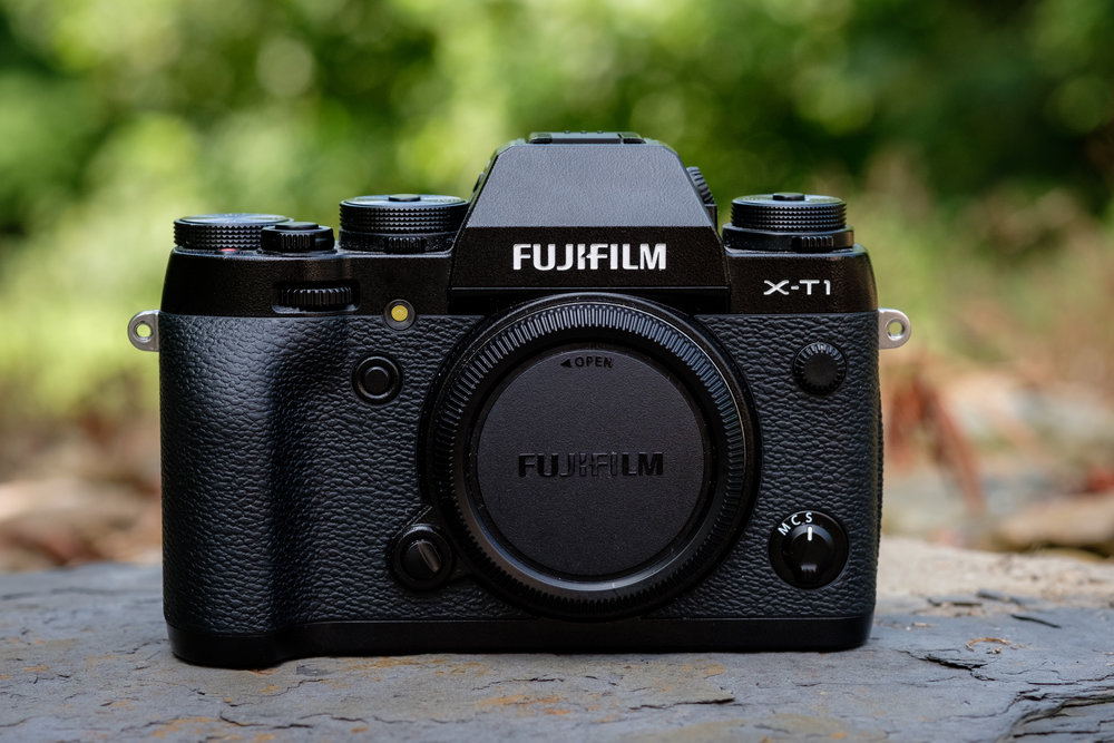 The Fujifilm X-T1. This is my backup camera and my second most favorite camera I've ever used.