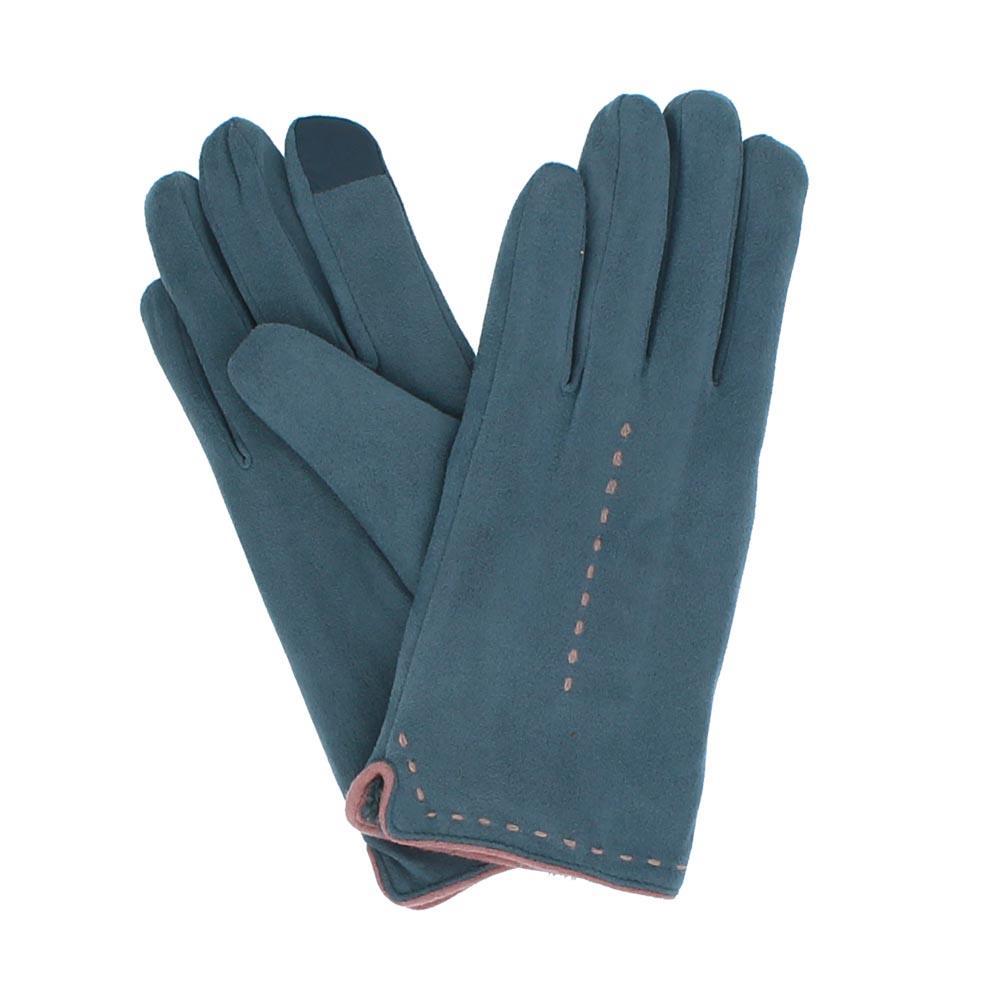 ac28d053c0a Suede Gloves--Blue Accessories