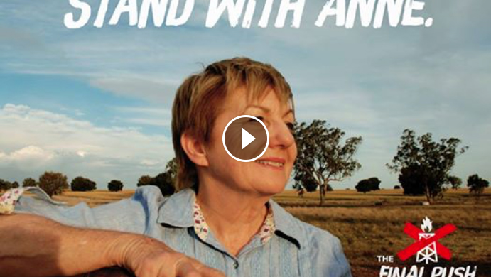 February 23, 2017  QUARTER OF A MILLION VIEWS - NEW BALANGARA FILM  The Wilderness Society has released a new short on the Pilliga CSG mining fight, produced by Balangara Films.  The fossil fuel giant, Santos, has finally released its plans to drill 850 coal seam gas wells right through the heart of the Pilliga forest and through the Great Artesian Basin.  Watch the film  here