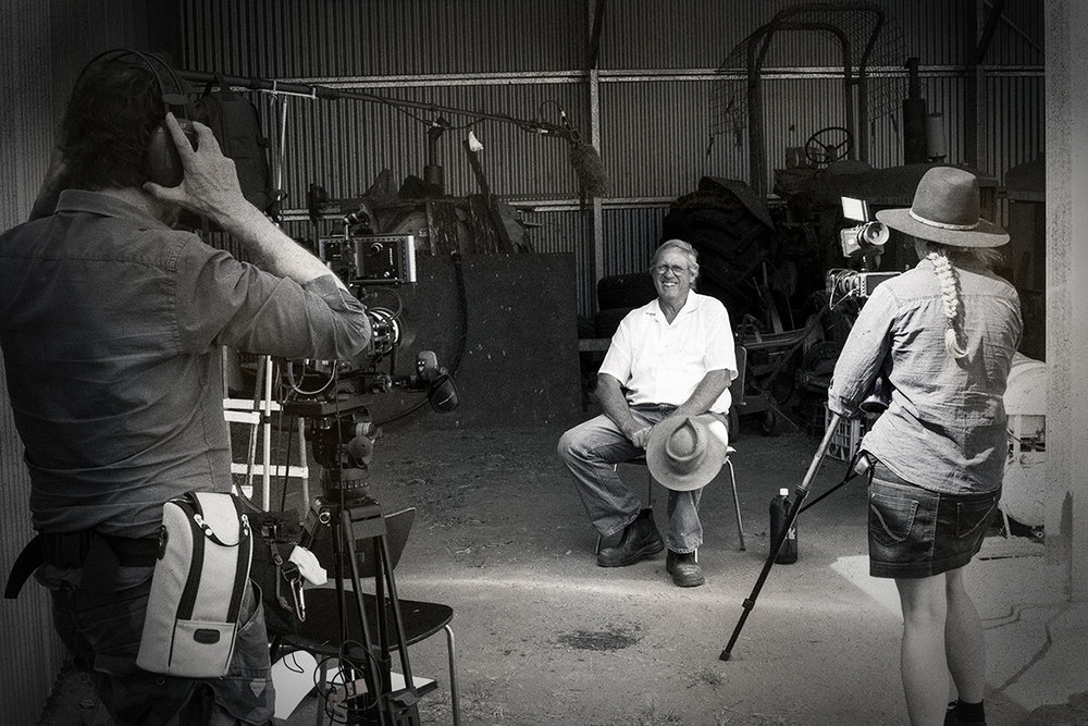 "On location of the 40min documentary ""Pilliga Rising"" (2019)"
