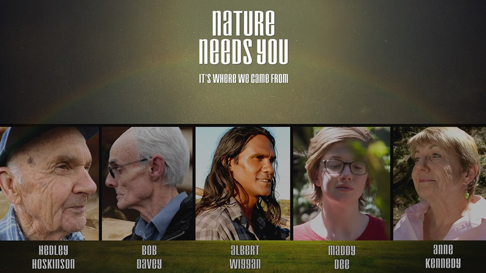 Nature Needs You - It's where we came from