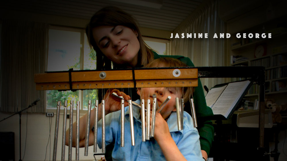 Jasmine & George - Special needs through the art of music therapy