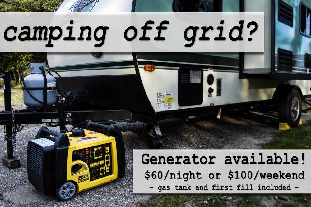 Campshare Generator Rental Muskegon Michigan.jpg
