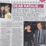 Dear Natalie...