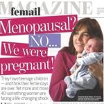 Menopausal? No...